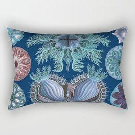 Ernst Haeckel Ascidiae Sea Squirts Rectangular Pillow