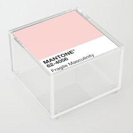 MANTONE® Fragile Masculinity Acrylic Box