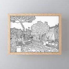 Snapshot in Collioure, France Framed Mini Art Print