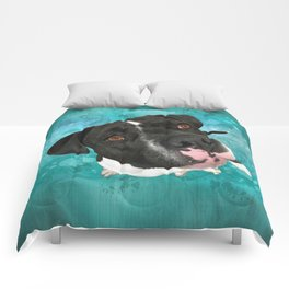SMiTHY (shelter pup) Comforters