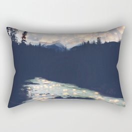 Make a wish -Yoho National park Rectangular Pillow