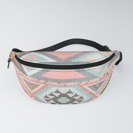 Aztec Artisan Tribal in Pink Fanny Pack