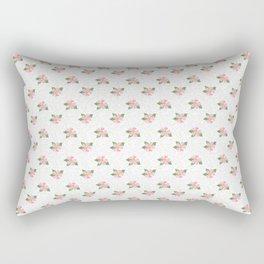 Dotty Dogroses Rectangular Pillow