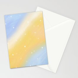 Warmth and Light (Dreamy Abstract Art) Stationery Cards