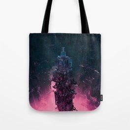 The Technocore / 3D render of futuristic structure Tote Bag