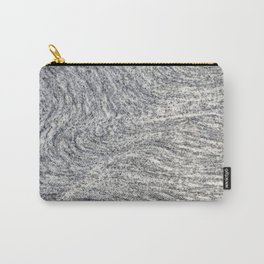 Real Marble Swirl Natural Carry-All Pouch