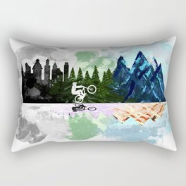 Go to The Mountains Rectangular Pillow