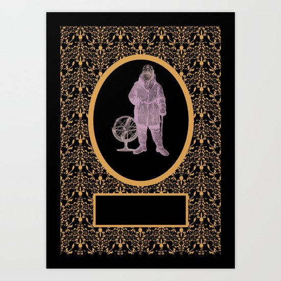 To The Edge Of The End And Back Art Print