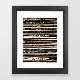 Recordsss Framed Art Print