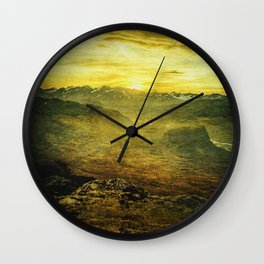 Nature's Sigh Wall Clock