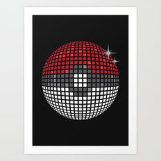 Discopoke Art Print