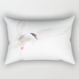 Painterly Artic Tern Rectangular Pillow