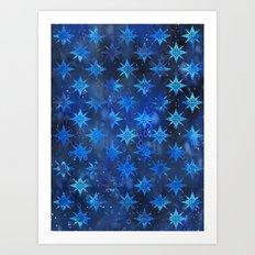 Tribal America {STARS} Art Print