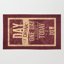 The most romantic words ever- I will do the dishes- Typography Rug