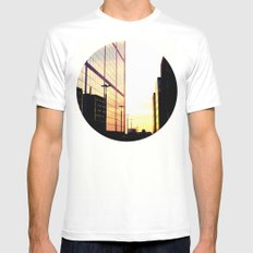 The City Mens Fitted Tee White MEDIUM