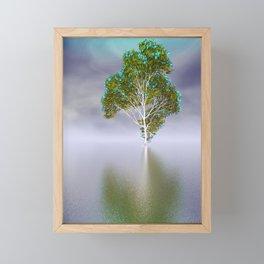strange light somewhere -18- Framed Mini Art Print