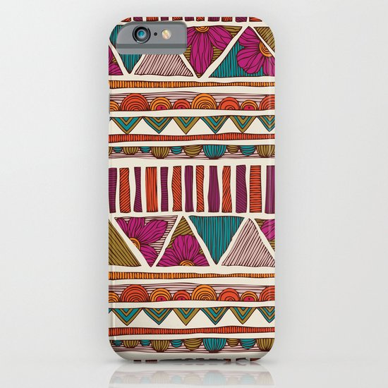 Tribal stripes iPhone & iPod Case