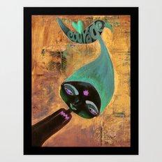 Courage-Bhoomie Art Print