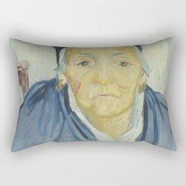 An Old Woman of Arles Rectangular Pillow