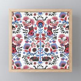 The French Bulldog of Folk Framed Mini Art Print