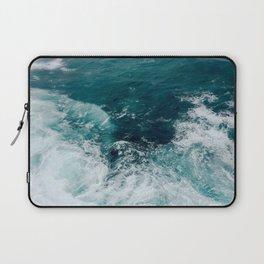 Ocean Waves (Teal) Laptop Sleeve