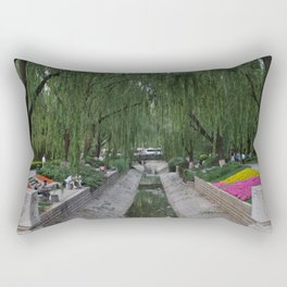 Beijing Greenway Rectangular Pillow
