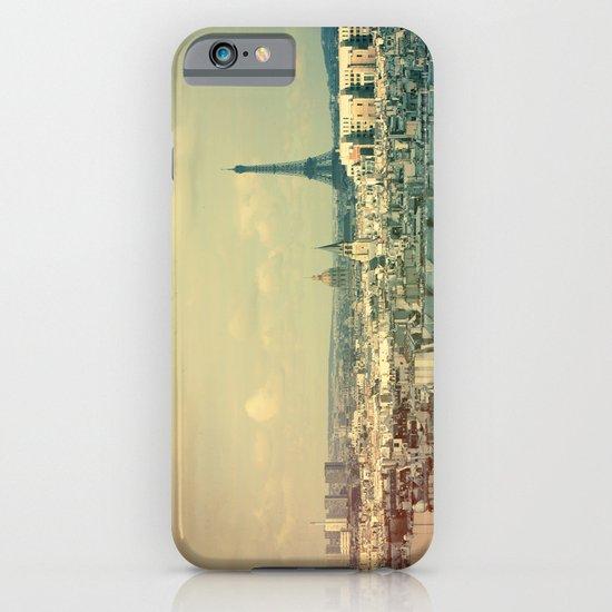 Pale Paris iPhone & iPod Case