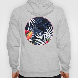 Bold Tropical Paradise Design Hoody