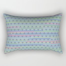 Jazz Dance with triangles Rectangular Pillow