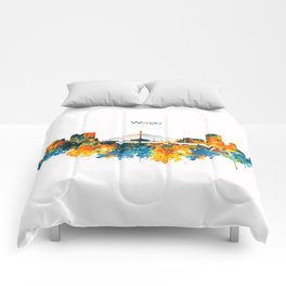Winnipeg Skyline Comforters