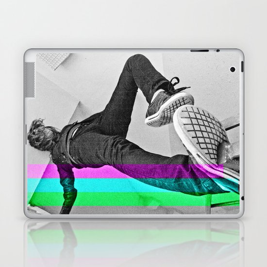 Human abstract Laptop & iPad Skin