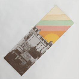 Rainbow Sky Above Paris Yoga Mat