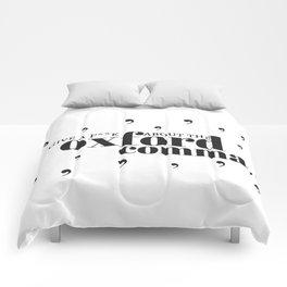 Grammarians Unite (Oxford Comma) Comforters