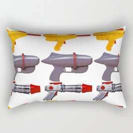 Radical Rayguns Rectangular Pillow