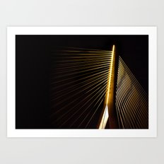 New Bridge at night Art Print