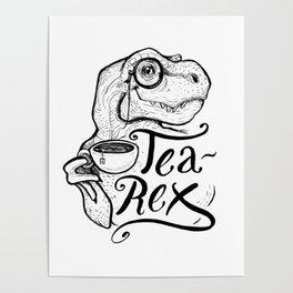 Tea-Rex Poster