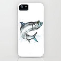 Tarpon Fish iPhone (5, 5s) Slim Case