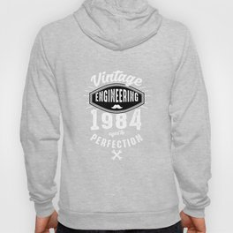 Awesome Vintage Engineering 1984 Aged To Perfection Hoody