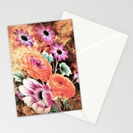 Vintage Floral Watercolor (Color) Stationery Cards