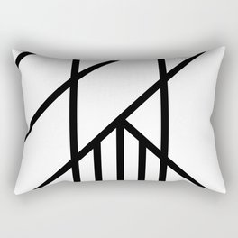 Bold Deco Rectangular Pillow
