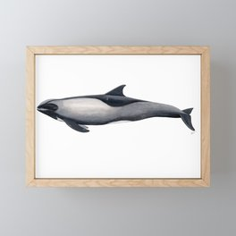 Melon-headed whale Framed Mini Art Print