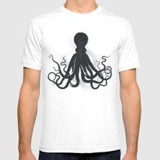 Octopi MEDIUM Mens Fitted Tee White