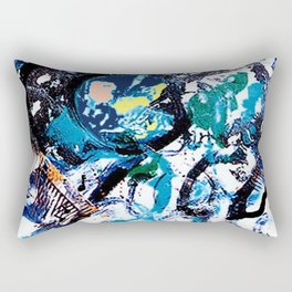 Night out at the Concert         by Kay Lipton Rectangular Pillow