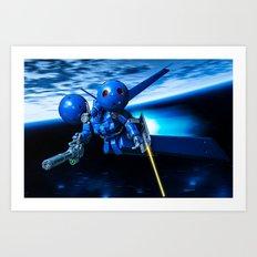 MS-21C DRA-C Art Print