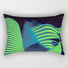 Cyberpunk Girl~サイバーパンク少女 Rectangular Pillow