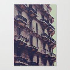 missing balcony Canvas Print
