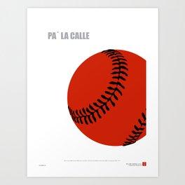 CUBA: Pa' la Calle (Hit the Streets) Art Print