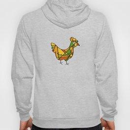 Chicken - Hen - Line Art - 57 Montgomery Ave Hoody