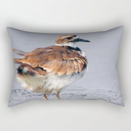 Juvenile Killdeer Rectangular Pillow