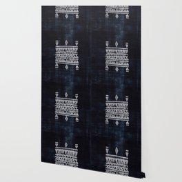 Arteresting V48 - Indigo Anthropologie Bohemien Traditional Moroccan Design Wallpaper